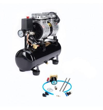 Kompressor rens kit, med kompressor
