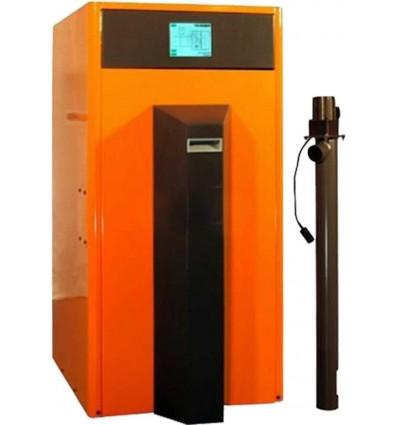 Ekoheat 2500 pillefyr - 6,1 - 24,9 kW, uden magasin
