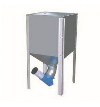 Mini silo 300 liter inkl. låg
