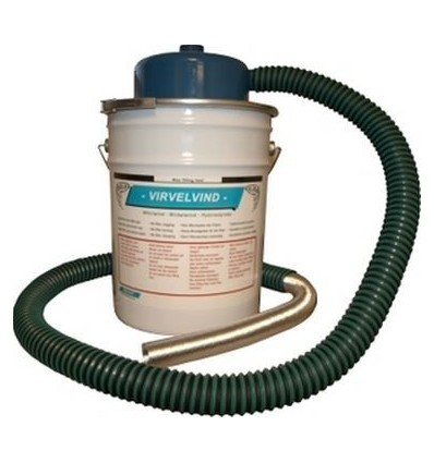 Virvelvind Askecyklon, 20 liters