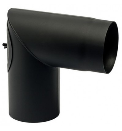 Knærør m/klap 90° Ø150mm