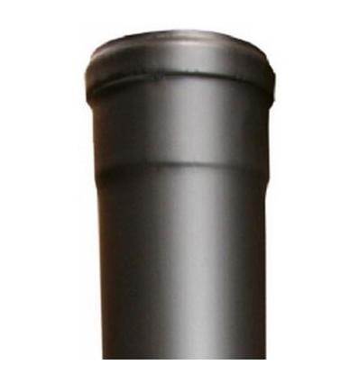 Røgrør lige u/klap L1000mm Ø100mm