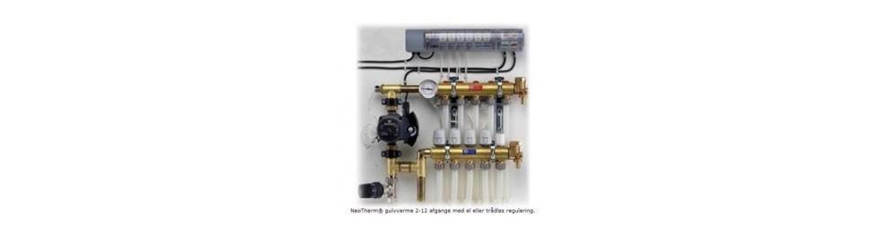 Neotherm, Trådløse rum termostater
