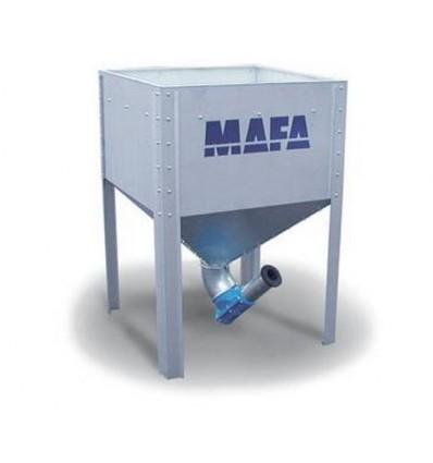 Mafa Midi silo 730 liter inkl. låg