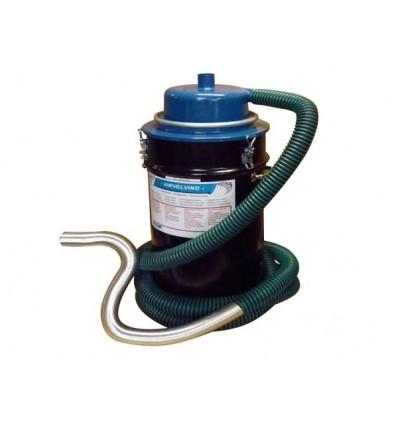 Virvelvind Askecyklon, 60 liters