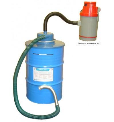 Virvelvind Askecyklon, 200 liters