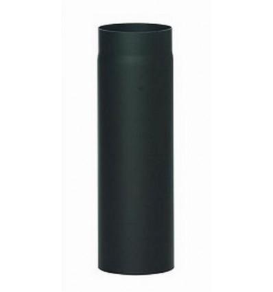 Røgrør lige u/klap L500 mm Ø130mm