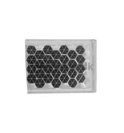 Reflex - firkantet Selvklæbende stykke reflex papir
