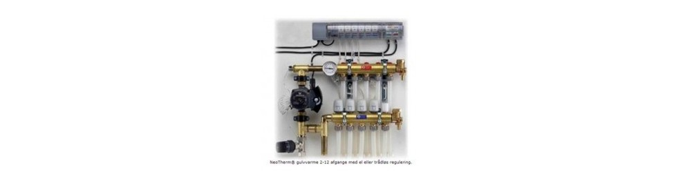 Neotherm, Ledningsførte rum termostater